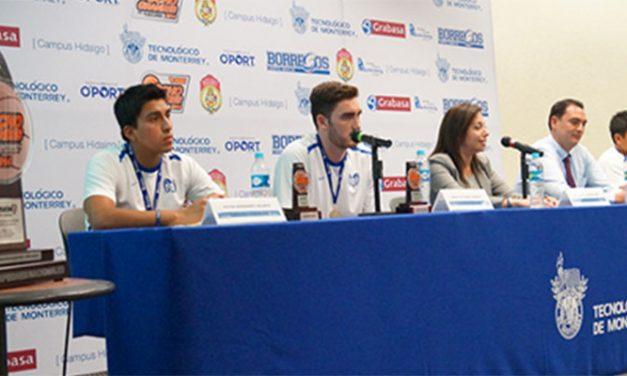 ITESM Hidalgo presentó a los campeones de la Liga ABE