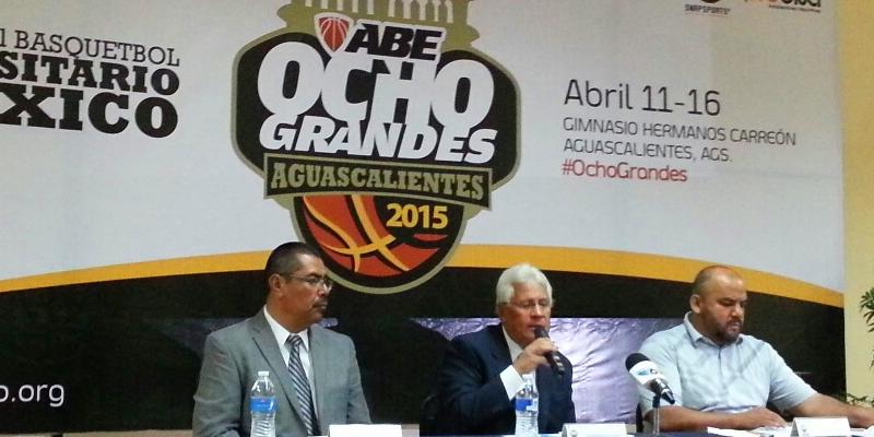 Se presenta en Aguascalientes el Campeonato Nacional Ocho Grandes de la Liga ABE