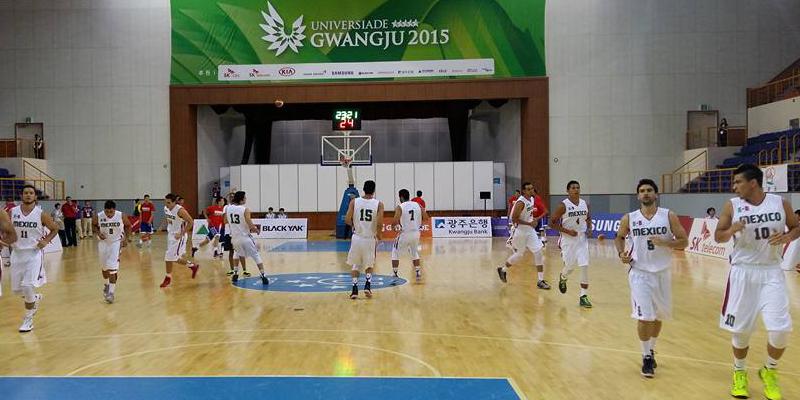México se impone a Mongolia en el inicio del basquetbol varonil de Gwangju 2015