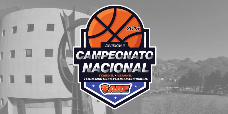 Se anuncian los Grupos para el Campeonato Nacional de la División II Chihuahua 2018