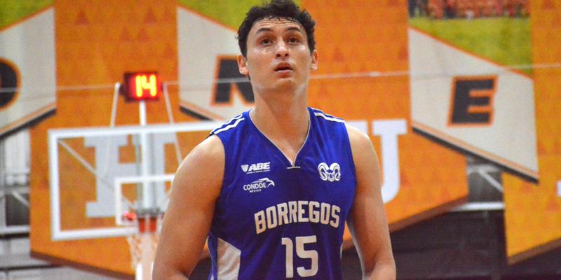 Bryan Muñoz a superar las expectativas con los Borregos del Tec de Monterrey