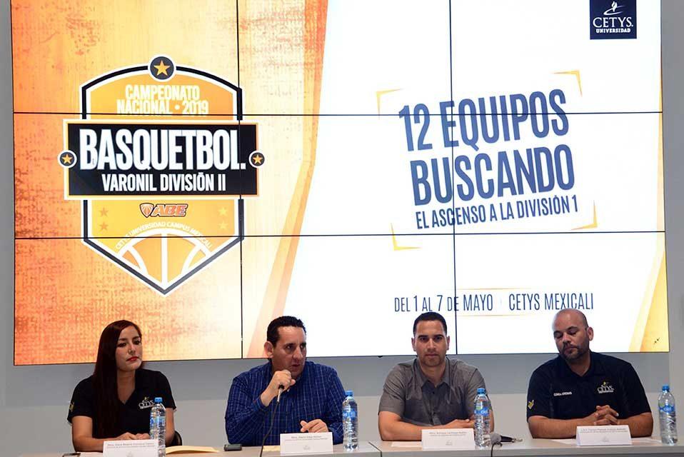CETYS Mexicali listo para recibir el Campeonato Nacional de la División II Varonil