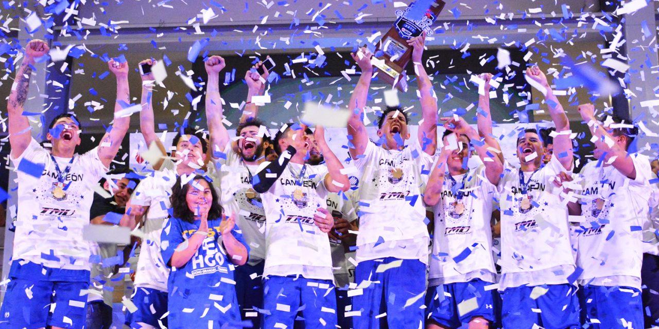 Los Borregos Hidalgo campeones de los Ocho Grandes 2019