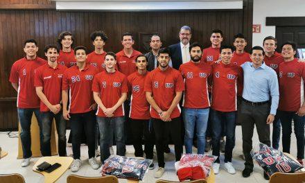 Entregan nuevos uniformes a las Panteras UP México