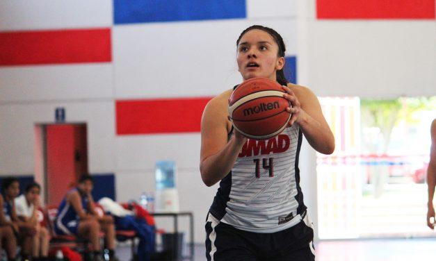 Alexia Lagunas, líder de rendimiento general en la División I
