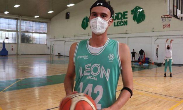 Diego Mayagoitia, el leonés que jugará en la Liga ABE con la UAA